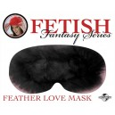 Fetish Fantasy Feather Love Mask Black