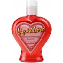 Liquid love warming massage lotion strawberry 118ml